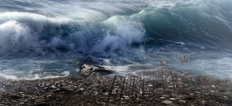 Massive Earthquake & Tsunami – Cascadia Fault
